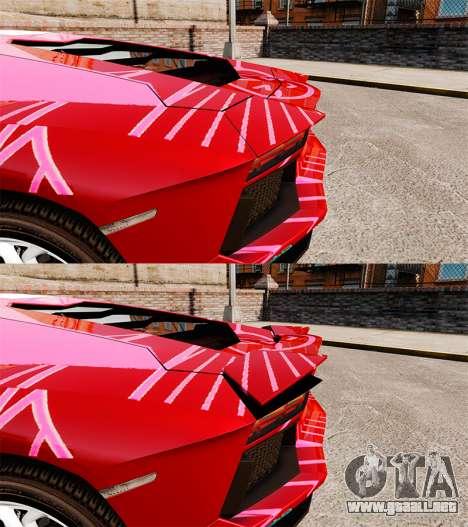 Lamborghini Aventador LP700-4 2012 [EPM] Miku para GTA 4 vista interior