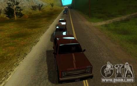 Sweet ENB Next Generation para GTA San Andreas quinta pantalla