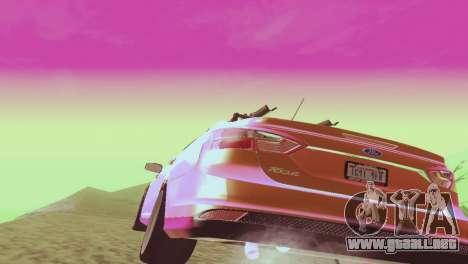 El Ford Focus Sedán Hellaflush para la visión correcta GTA San Andreas