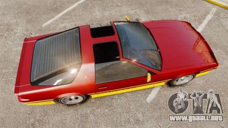 Imponte Ruiner new wheels para GTA 4 visión correcta