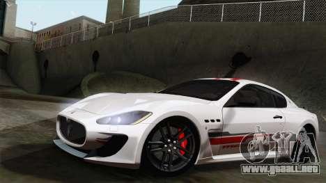 Maserati GranTurismo MC Stradale para GTA San Andreas
