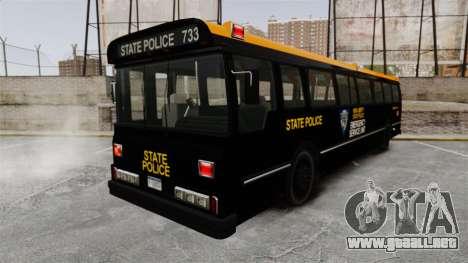 Brute Bus ESU [ELS] para GTA 4