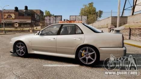 Nissan Skyline ER34 GT-R para GTA 4 left