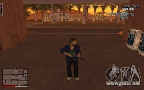C-HUD GTA 5 para GTA San Andreas
