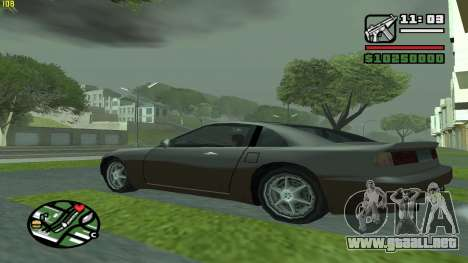 Weather Menu para GTA San Andreas tercera pantalla