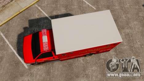 Brute LSFD Paramedic para GTA 4 visión correcta