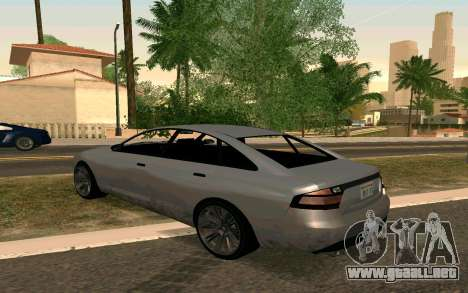 GTA V Obey Tailgater para GTA San Andreas left