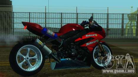 Kawasaki Ninja ZX-6R para GTA San Andreas left