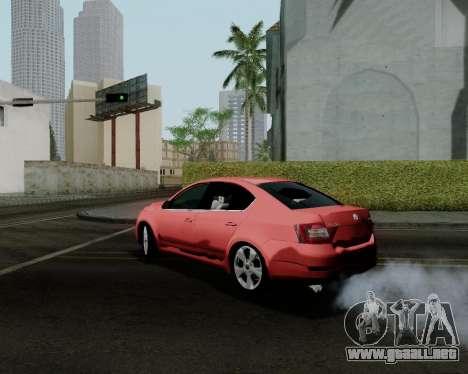 Skoda Octavia A7 para GTA San Andreas