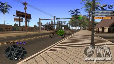 C-HUD Light para GTA San Andreas sexta pantalla