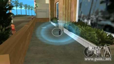Pastillas, bombas de humo para GTA Vice City segunda pantalla