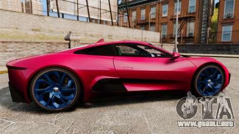 Jaguar C-X75 [EPM] para GTA 4 left