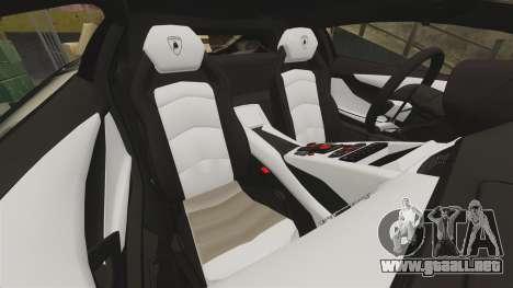 Lamborghini Aventador LP700-4 2012 [EPM] Jake para GTA 4 vista lateral