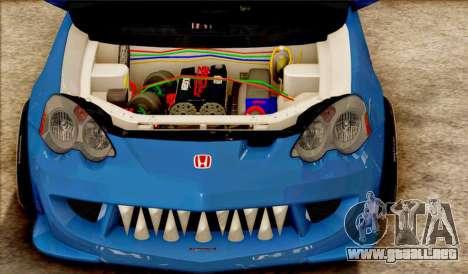 Honda Integra Mugen Type R para GTA San Andreas left