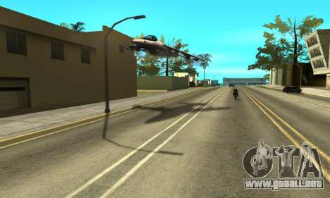 Sombras en el estilo de RAGE para GTA San Andreas quinta pantalla