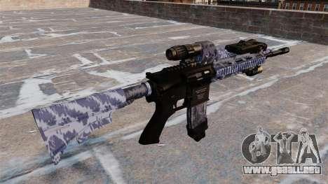 Automatic rifle Colt M4A1 para GTA 4 segundos de pantalla