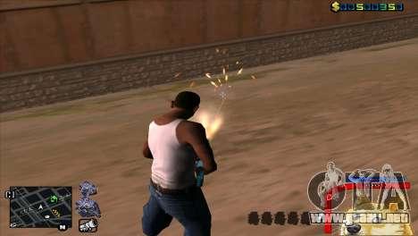 C-HUD Perro WOW para GTA San Andreas tercera pantalla