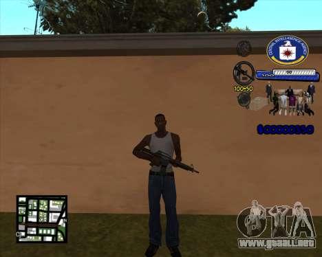 C-HUD C.I.A para GTA San Andreas