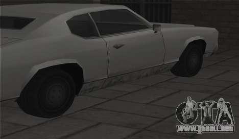 Todas las ruedas en todas las máquinas para GTA San Andreas sucesivamente de pantalla