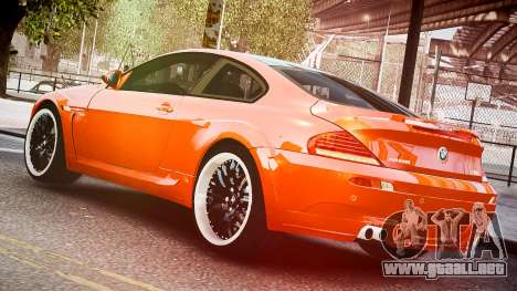 BMW M6 Hamann Widebody v2.0 para GTA 4 left