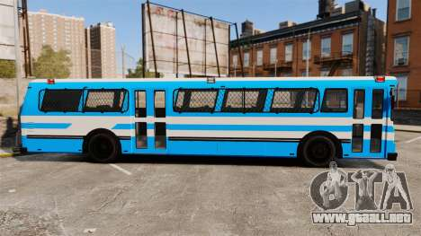Brute Bus Japanese Police [ELS] para GTA 4 left