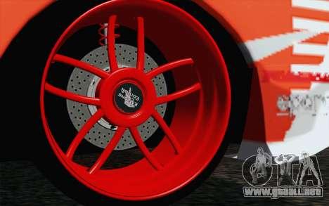 Nissan Skyline GT-R32 para GTA San Andreas vista posterior izquierda