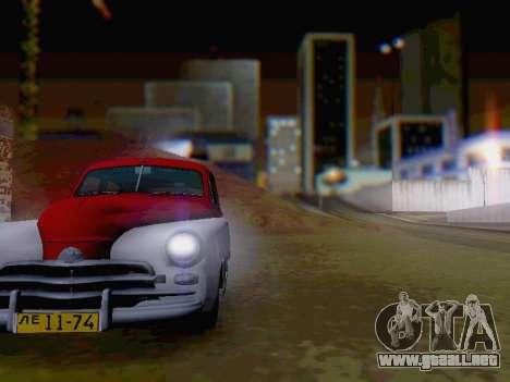 GAZ M-20 Pobeda para visión interna GTA San Andreas