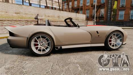 Bravado Banshee new wheels para GTA 4 left