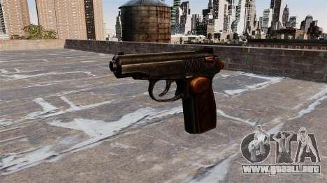 La Pistola Makarov para GTA 4 tercera pantalla