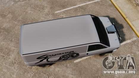 Burrito Bodybuilder para GTA 4 visión correcta