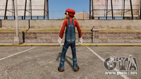 Mario para GTA 4 segundos de pantalla