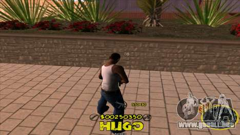 C-HUD Vagos by Hugo para GTA San Andreas segunda pantalla