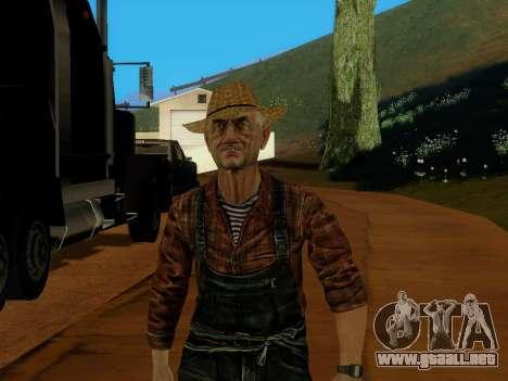 Agricultor o modificado y complementado para GTA San Andreas tercera pantalla