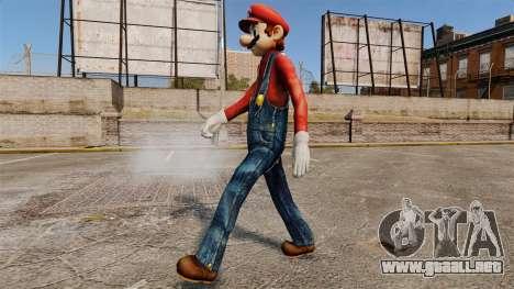 Mario para GTA 4 tercera pantalla