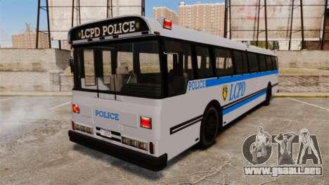 Brute Bus LCPD [ELS] para GTA 4