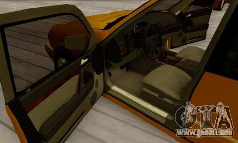 Mercedes-Benz E320 Wagon para la vista superior GTA San Andreas