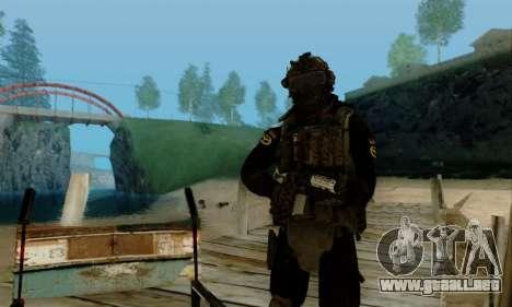 Kopassus Skin 2 para GTA San Andreas séptima pantalla
