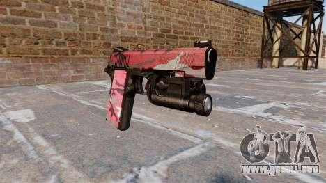Pistola semiautomática Kimber para GTA 4