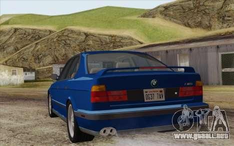BMW M5 E34 1994 NA-spec para GTA San Andreas left