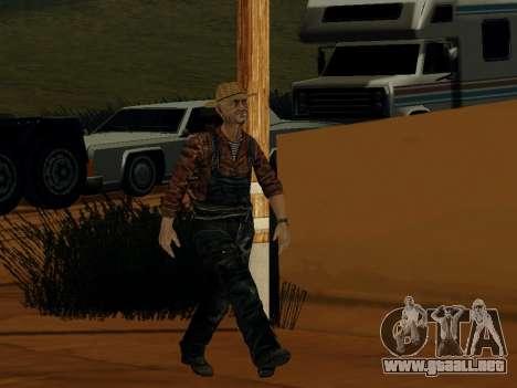 Agricultor o modificado y complementado para GTA San Andreas sucesivamente de pantalla