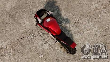 GTA IV TBoGT Dinka Double T para GTA 4 Vista posterior izquierda