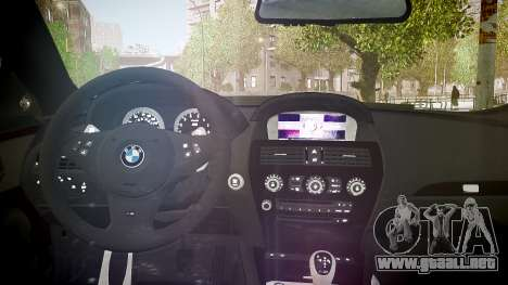 BMW M6 Hamann Widebody v2.0 para GTA 4 vista lateral