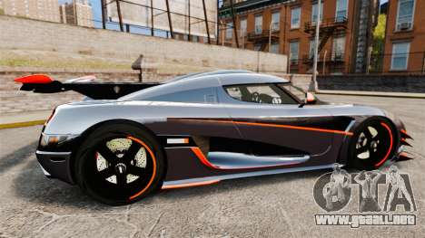 Koenigsegg One:1 para GTA 4 left