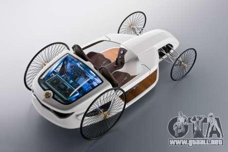 Inicio pantallas de Mercedes-Benz F-CELL Roadste para GTA 4 sexto de pantalla