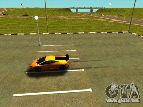 Lamborghini Gallardo Super Trofeo Stradale para vista lateral GTA San Andreas