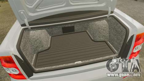 ВАЗ-Lada 2170 Priora v2.0 para GTA 4 vista interior