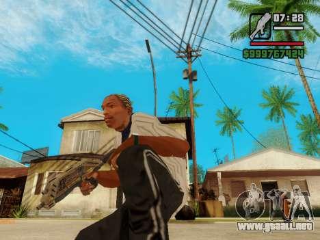 Defensor v.2 para GTA San Andreas sucesivamente de pantalla