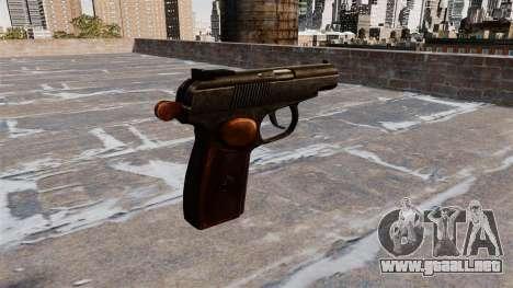 La Pistola Makarov para GTA 4 segundos de pantalla