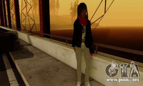 Kim Kameron para GTA San Andreas sexta pantalla