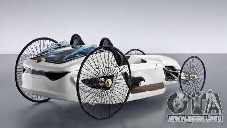 Inicio pantallas de Mercedes-Benz F-CELL Roadste para GTA 4 tercera pantalla